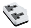 Arrière Socket TPR Caoutchouc Wireable UK Secteur Extension Lead 13 A ext Plug Socket