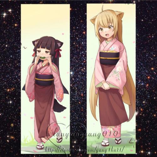 "59/"" Anime Konohana Kitan Dakimakura Bedding Hugging Body Pillow Case Cover WAQ2"