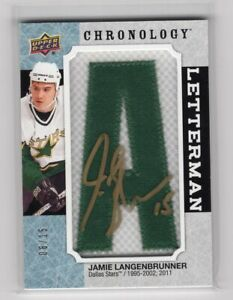 2018-19-UD-CHRONOLOGY-LETTERMAN-AUTO-PATCH-15-034-A-034-JAMIE-LANGENBRUNNER-STARS