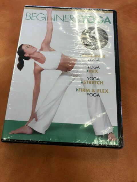 Beginners Yoga Gaiam 4 Dvd Workout Set Mix Stretch Firm Flex A828 For Sale Online Ebay