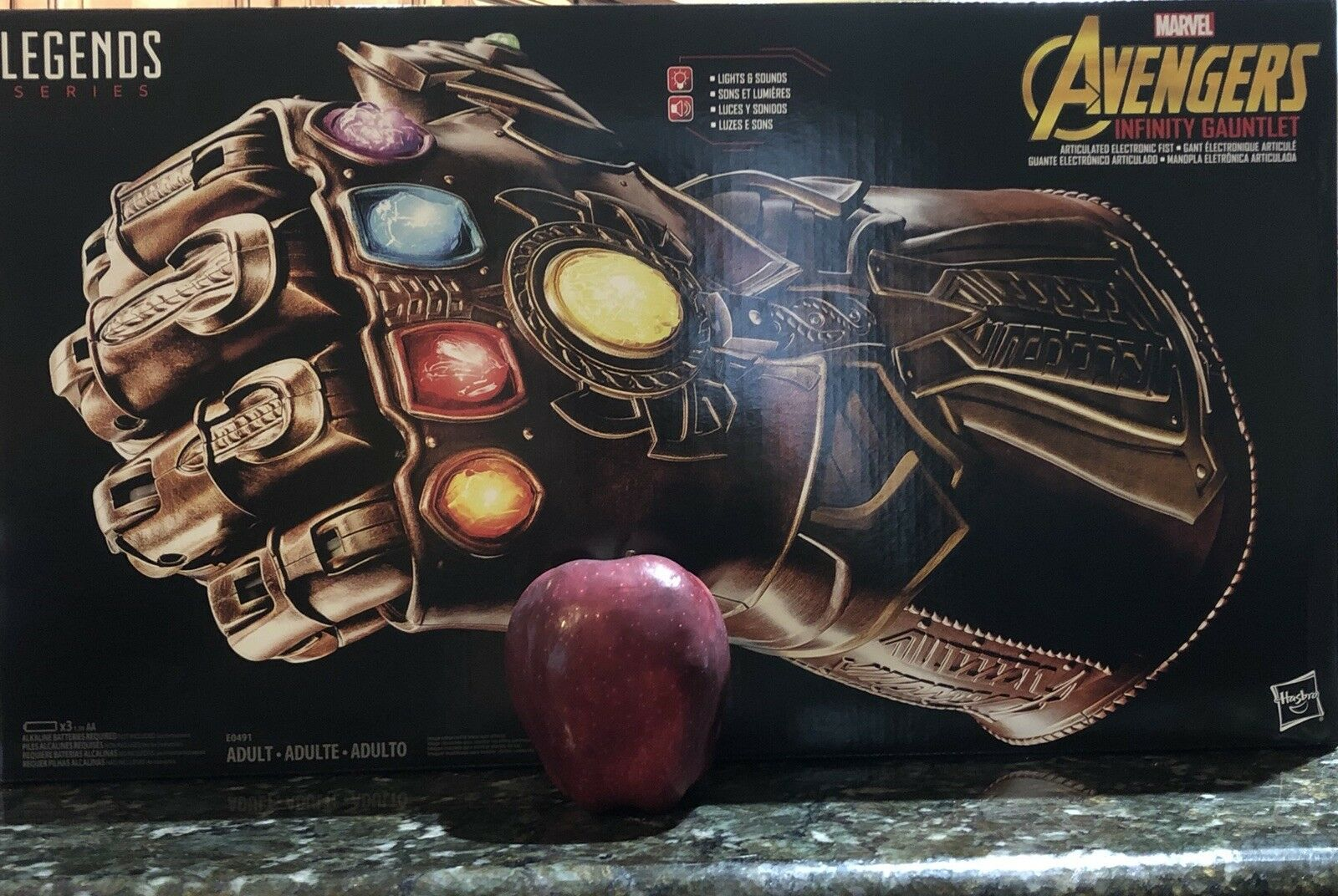 Marvel Legends Thanos INFINITY GAUNTLET Articulated Fist IN HAND Ready-to-Ship