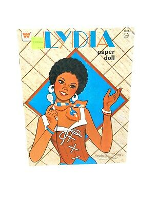 Vintage NEW Whitman LYDIA Paper Doll Book # 1970 UNCUT