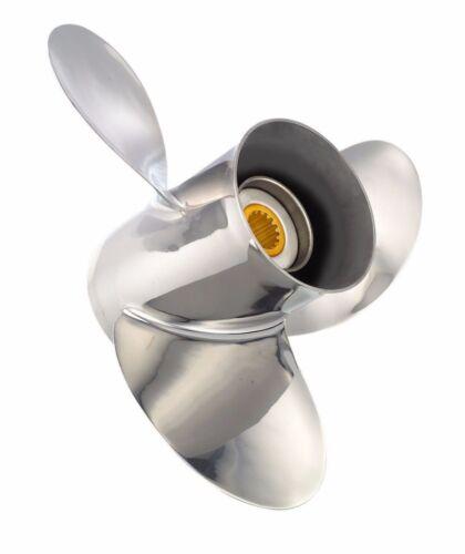 Solas Saturn Propeller for Honda Tohatsu-Nissan 25-30 HP 10x13 5221-100-13 MD