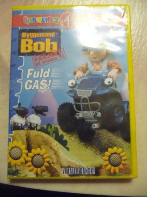 Byggemand Bob fuld gas, DVD, tegnefilm