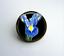Iris Flower Art Earrings Necklace Brooch Keyring