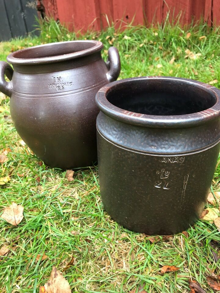 Keramik, Krukker/fade, Ukendt