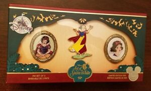 Disney-D23-Expo-EXCLUSIVE-Art-of-Snow-White-Pin-Set-Limited-Edition-1150-MIB