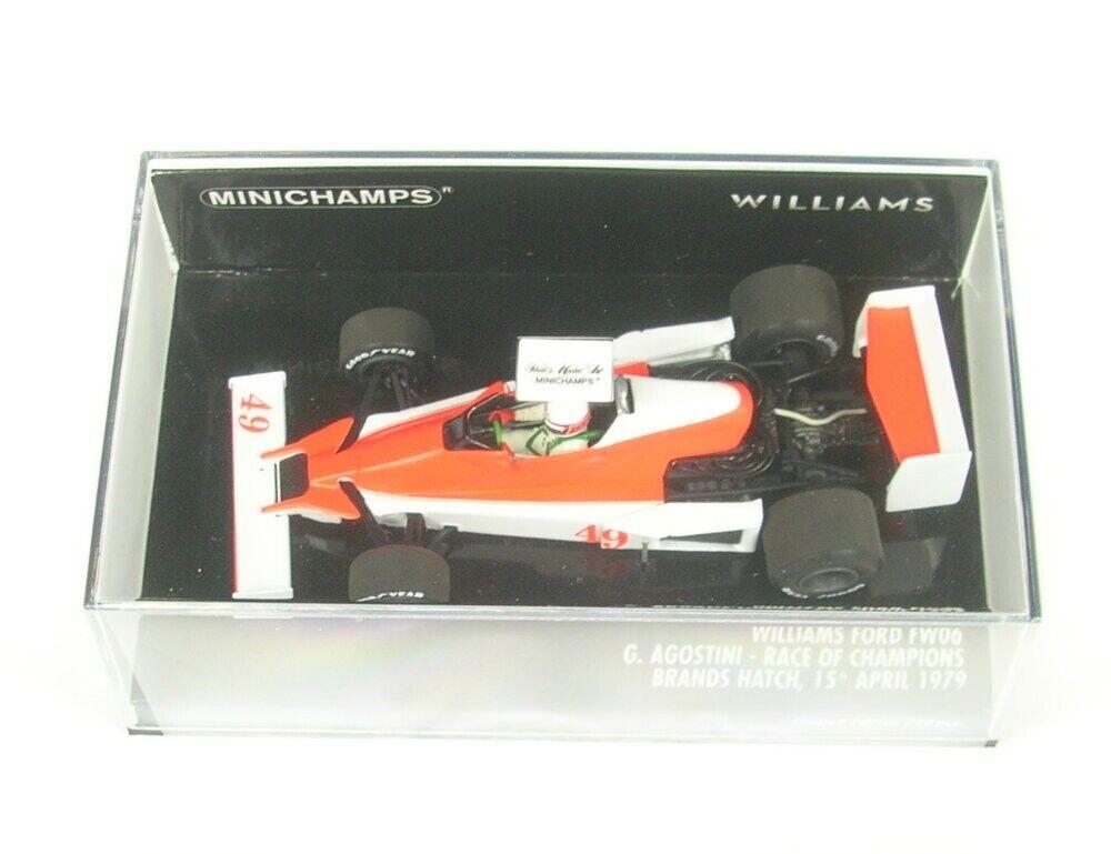 Williams Ford FW06 No.49 Gara di Champions Brands Hatch 1979 (Giacomo Agostini)