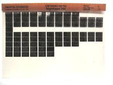 Honda CB750SC Nighthawk CB700 1982 1983 Parts List Catalog Microfiche a906
