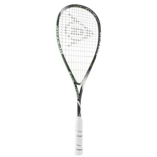 Dunlop hyperfibre + EVOLUTION Squash Racquet