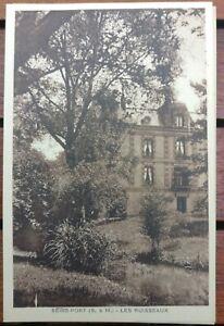 Carte Postale ancienne Seine Et Marne 77 seine port / les ruisseaux