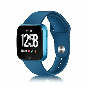 For-Fitbit-Versa-Fitness-Smart-Watch-Soft-Silicone-Replacement-Strap-Wristbands