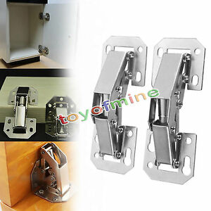 Image Is Loading 90 Degree Easy Mount Concealed Kitchen Cabinet Cupboard
