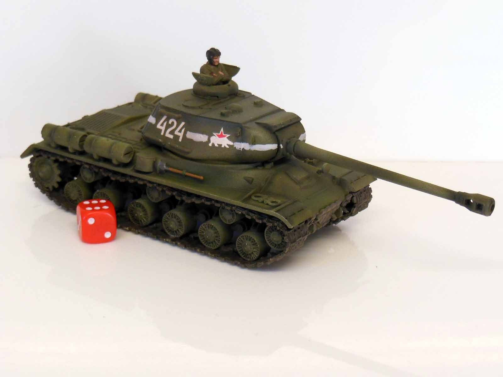 28mm Bolt Action Chain Of Command Soviet IS-2 Heavy Tank Painted & Weathered R2