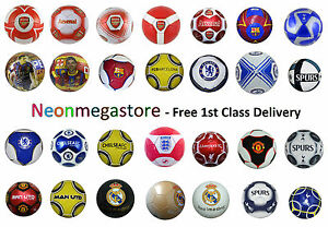 100-Official-Licensed-FC-Footballs-Size-5-Man-Utd-Chelsea-Arsenal-Liverpool
