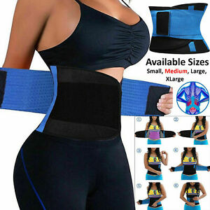 UK Breathable Waist Tummy Girdle Belt Yoga Sport Body Shaper Trainer Control lot