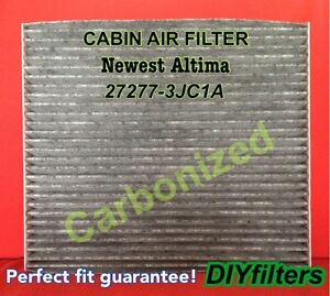 For the newest altima pathfinder premium carbonized cabin for 2016 nissan murano cabin air filter