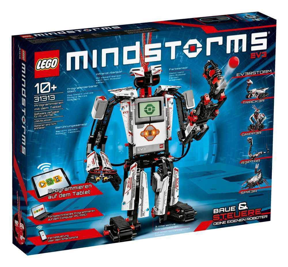 Lego  Mindstorms Lego ® Mindstorms ® EV3 - 31313  le plus en vogue