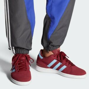 Adidas-Busenitz-Pro-Skateboarding-Shoe-Men-s-8-Burgundy-Blue-DB3124