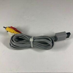 OEM-Nintendo-Wii-AV-Composite-Cables-RVL-009-Gray-Used