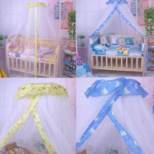 Image is loading Baby-Infant-Nursery-Mosquito-Bedding-Crib-Canopy-Net- & Baby Infant Nursery Mosquito Bedding Crib Canopy Net Hanging Babe ...