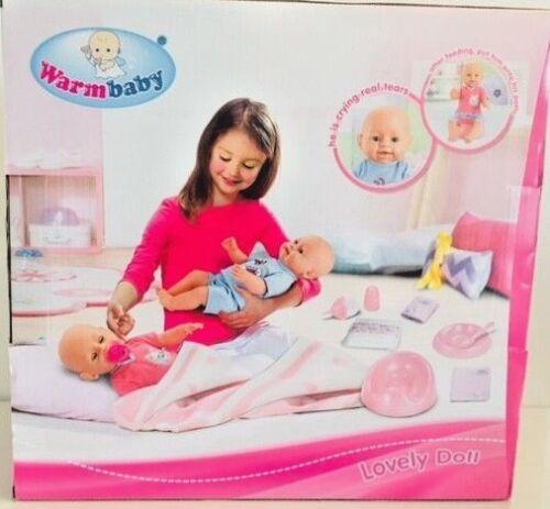 INTERACTIVE Caldo Bambino nato Doll (43 cm) giocattolo gioco e accessori, bambole Play Set G