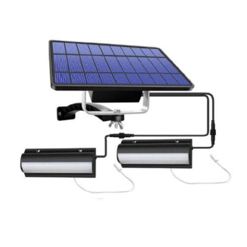 Waterproof Solar LED Pendant Light Outdoor Hanging Garden Yard Shed Lamp IP65