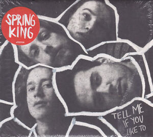 SPRING KING Tell Me If You Like To 2016 16-track Deluxe Edition CD NEW/SEALED
