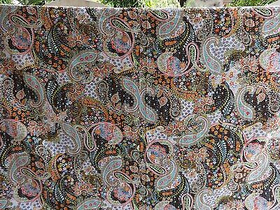 Handmade Paisley Kantha Bedding Indian Cotton Bedspread Reversible Kantha Quilt