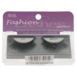 ac589bd8dd1 Image is loading Ardell-117-Fashion-Glamour-Eyelashes-Black