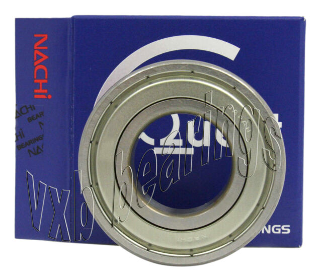 6203Z Nachi Ball Bearing 17x40x12 Quality Made in Japan Metric Greased EMQ