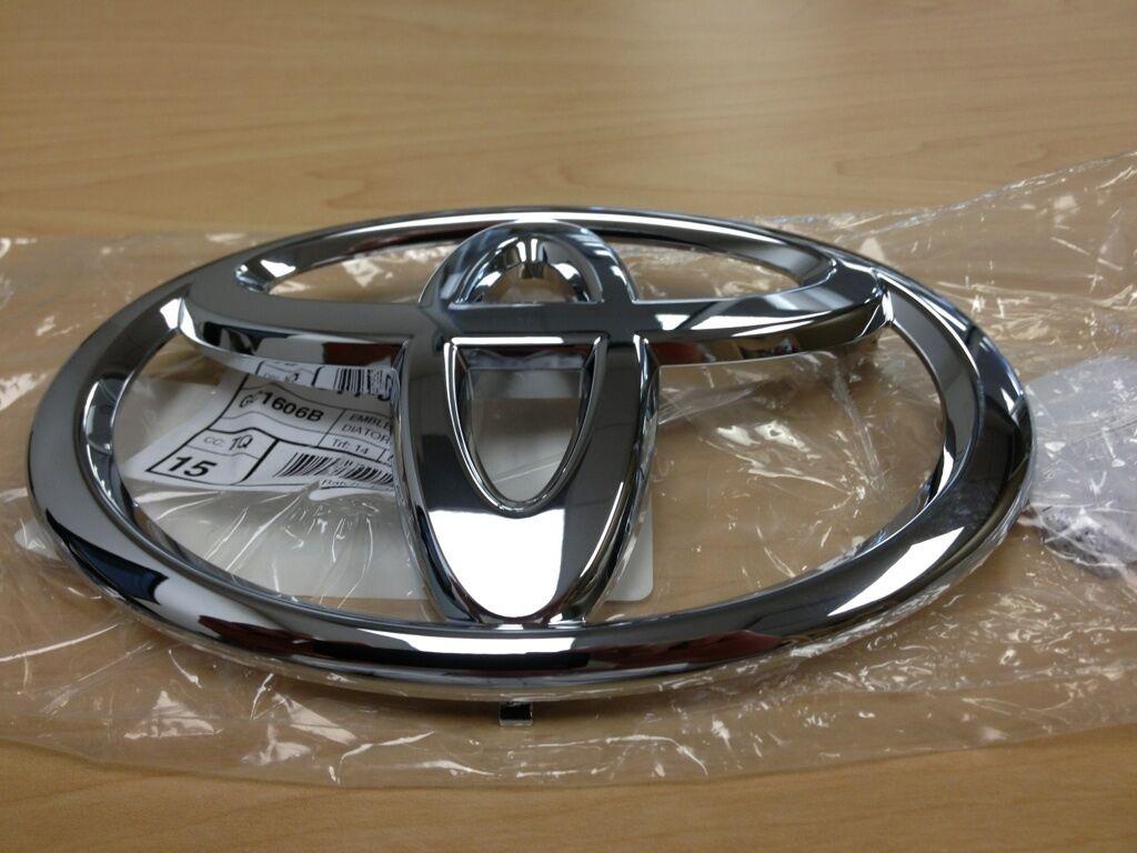 2007-2013 Toyota Tundra Kühlergrill Emblem Oem Fabrik Fabrik Fabrik und Nagelneu 440891