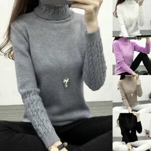 Women-Turtleneck-Winter-Sweater-Long-Sleeve-Knitted-Sweater-Pullovers-Jumper-T-t