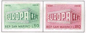 San Marino Europa set 1969 MLH