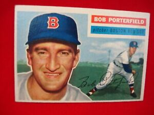 1956 TOPPS BASEBALL #248 - BOB PORTERFIELD - BOSTON RED SOX - PITCHER