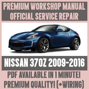 workshop manual service repair guide for nissan 370z 2009 2016 rh ebay ie 370z 2009 owners manual Nissan 370Z Sport