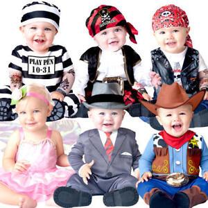 d5d254631 Fun Baby 0-24 Months Fancy Dress Uniform Girls Boys Infant Toddler ...