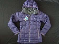New Kuhl Women's Goose Down Hooded Jacket Acai Purple Size S