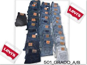 Levi-039-s-501-Jeans-vintage-Grado-A-B-amp-B-C-W28-W30-W32-W34-W36-501-LEVI-501s