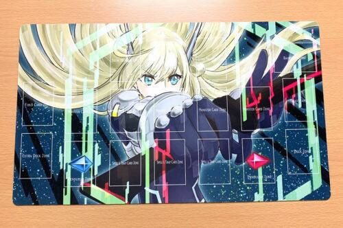 F3028 Yugioh Trading Card Game Playmat Sky Striker Mobilize Engage With Zones