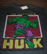 VINTAGE STYLE THE INCREDIBLE HULK T-Shirt XL NEW Marvel Comics THE AVENGERS