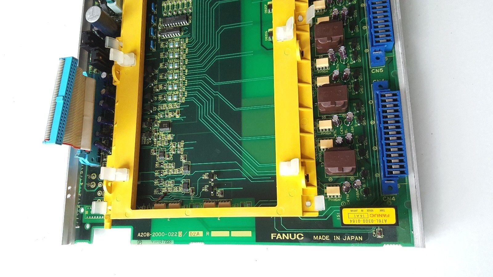 Fanuc A20b 2000 0220 02a Servo Pcp Board Pzo Ebay Prototype Pcb Printed Circuit Breadboard Protoboard 1200 Points Norton Secured Powered By Verisign