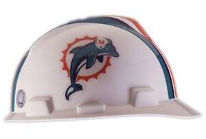 Comfortable Fit Safety Works NFL Hard Hat Dolphins - Safety Program ... 28cf170f5