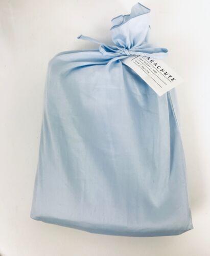 Parachute ✧ Top Sheet ✧ Egyptian Cotton-Sateen ✧ King//Cal King ✧ L Blue ✧ NWT