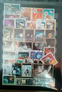 Space-spatiale-STAMPS-TIMBRES-SELLOS-timbres