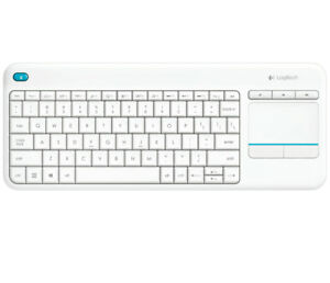 Teclado-Espanol-Logitech-Wireless-TOUCH-Keyboard-K400-Plus-ESP-blanco