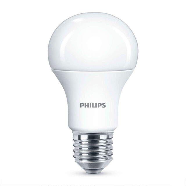 Philips 5.5W = 40W CorePro LED GLS A60 ES / E27 Warm White 2700k Opal Bulb