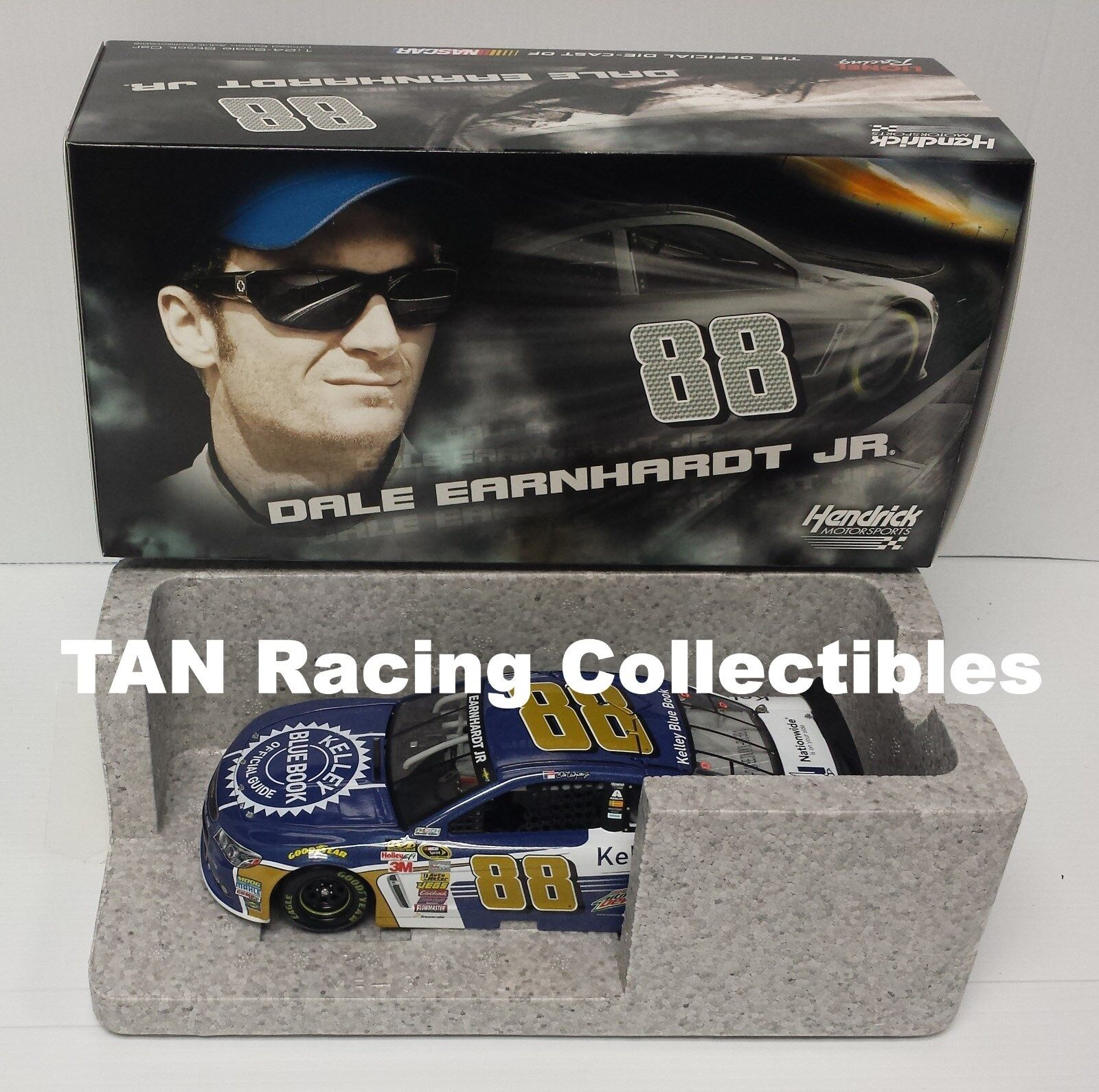 Dale Earnhardt Jr 2015 Lionel Action  88 Kelley blueee Book Chevy 1 24 FREE SHIP