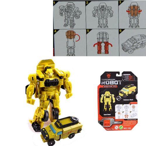Kids Bumblebee Optimus Prime Transforming Vehicle Autobots Storm Guard Toys Gift