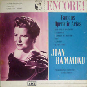 Joan Hammond , Philharmonia Orchestra , Glauco Curiel - Famous Operatic Arias (V